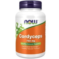 Now Foods Cordyceps 750 mg 90 kapslí